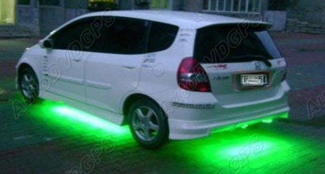 7 Color Led Under Car Glow Underbody System Neon Lights