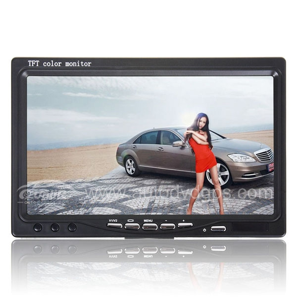New 7 Inch Car TFT LCD Color Monitor for  DVD GPS Camera