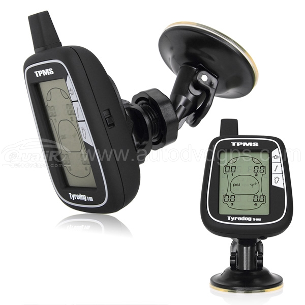 New TYREDOG TPMS Tire Pressure Monitor System with 4 External sensors