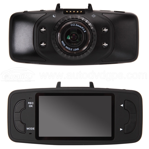 "2.7"" 1080P HD GS9000 Night Vision Dash Cam With GPS G-sensor"