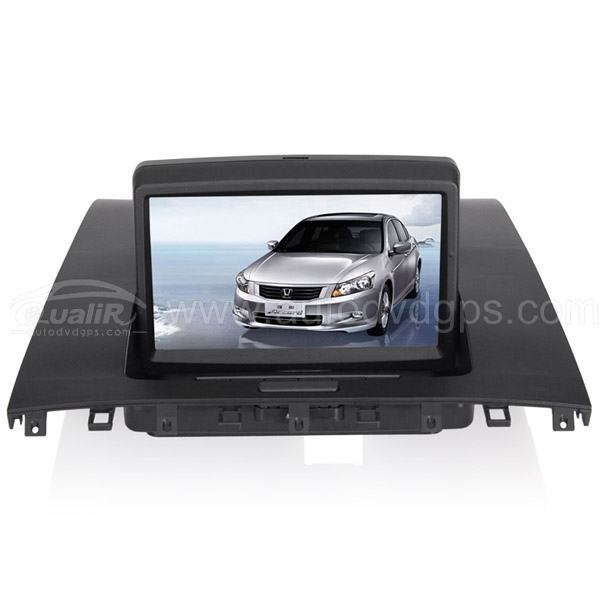 OEM Upgrade Multimedia Navigation System with 7 Inch TFT LCD Touchscreen Monitor  for 2003-2007 7th Honda ACCORD