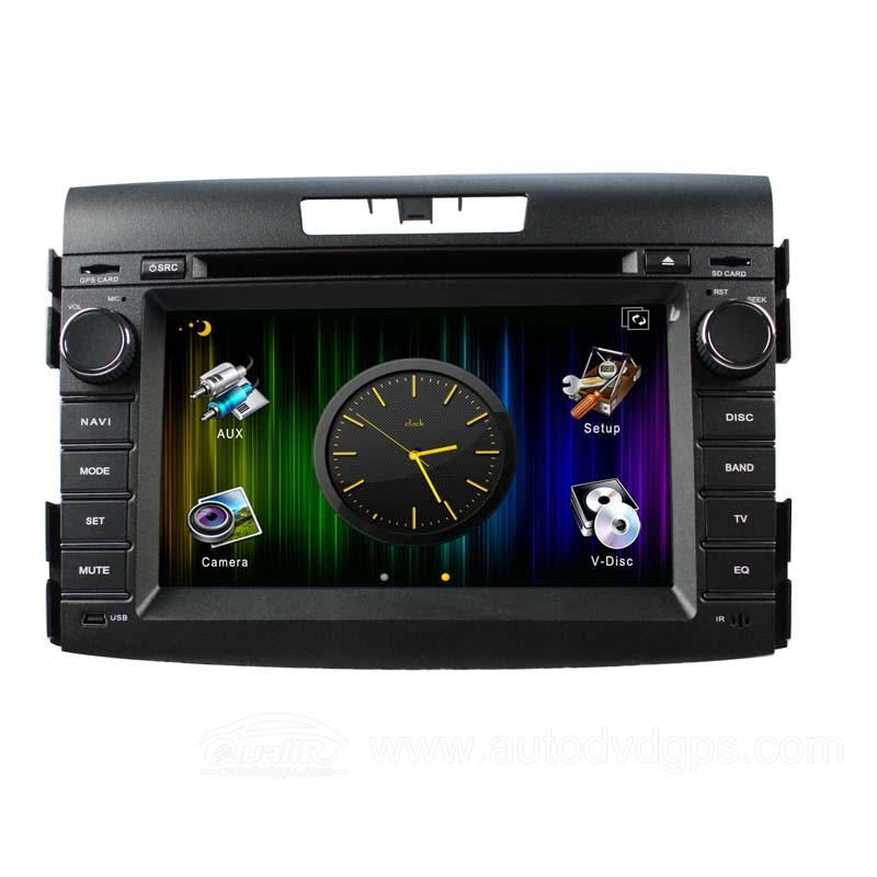7 Inch Digital Touch Screen DVD GPS Player with BT iPod CAN-BUS for 2012 CRV