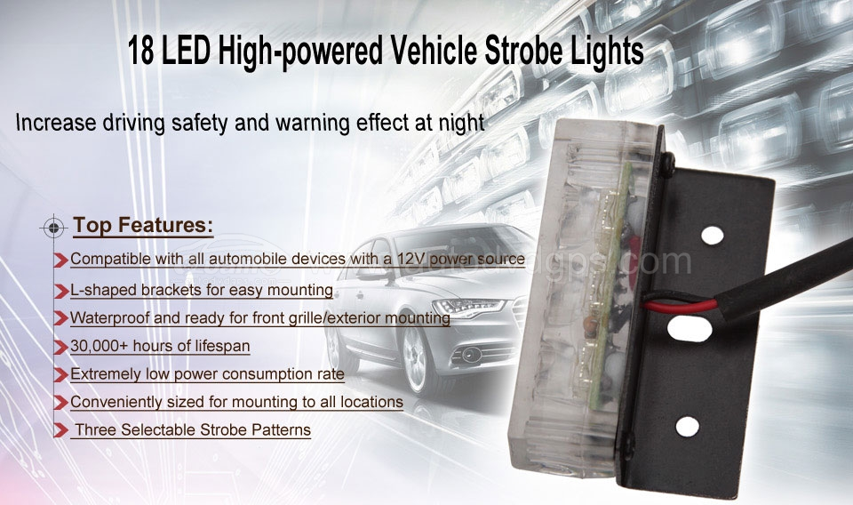 Emergency Vehicle Strobe Lights