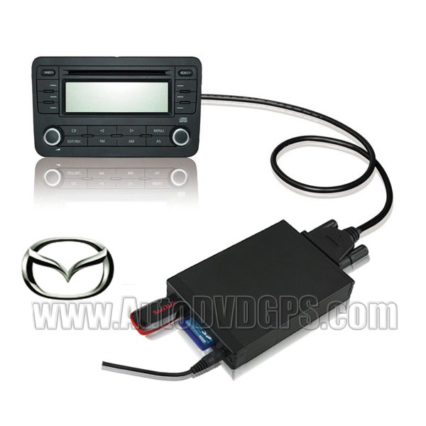 Yatour Car Digital Music Changer USB SD MP3 + Bluetooth (optional) for NEW MAZDA