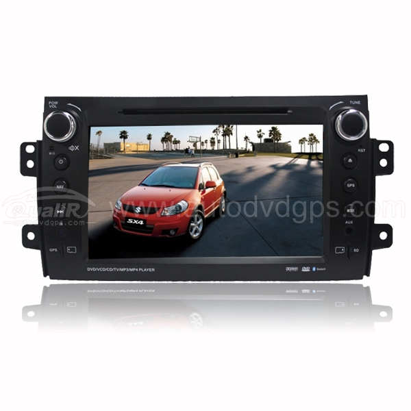 8 inch DVD GPS player Bluetooth iPod with Digital Touch Screen Monitor For SUZUKI SX4