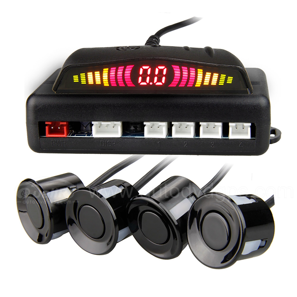Best Selling Car LED Parking Sensor Reverse Backup Radar System with Backlight Display+4 Sensors