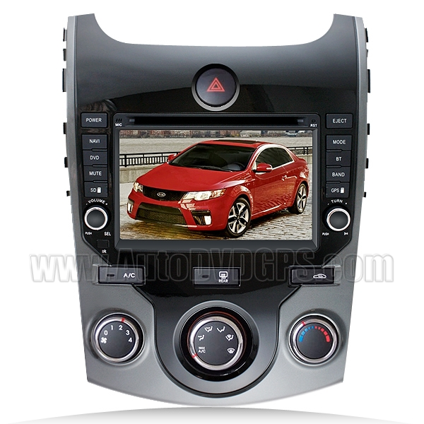 2009-2012 Kia Cerato /Forte Koup 5-door DVD Player with GPS navigation and 7 Inch Digital HD touchscreen and Bluetooth