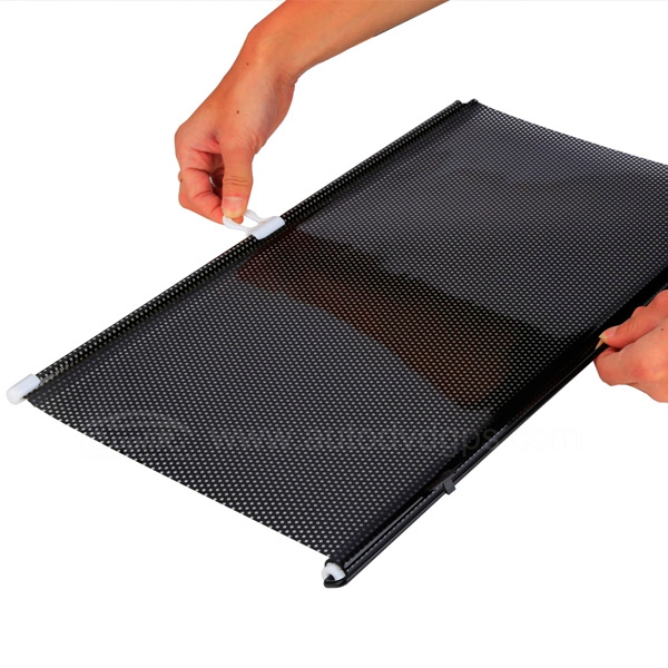 Auto Car Curtain Back Window Shade Windshield Sunshade Shield Visor  Retractable(50CM*125CM)