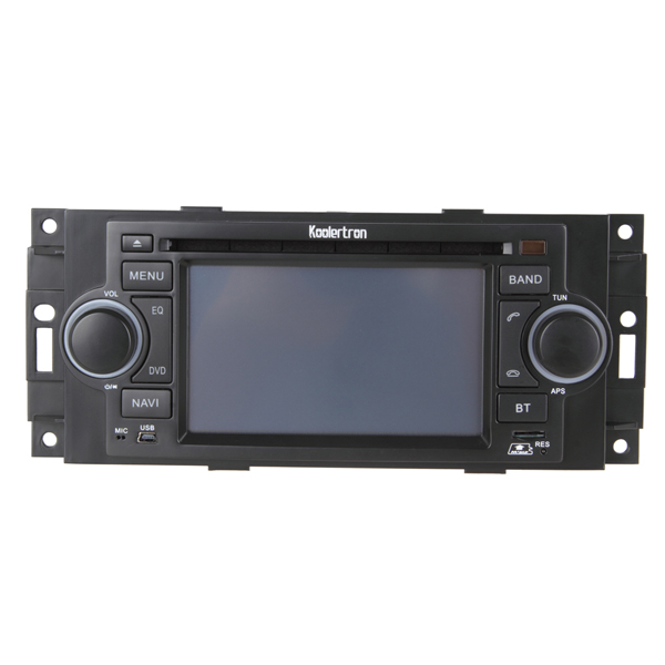 2002 - 2007 Jeep Series Car DVD player with in-dash GPS navigation, Digital Monitor, iPod BT Control
