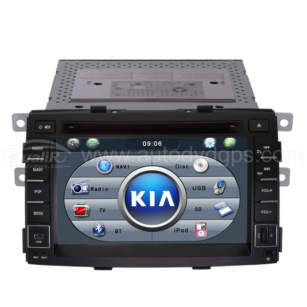 2009-2011 Kia Sorento 7 inch DVD GPS player Bluetooth iPod SWC RDS with Digital HD Touch Screen Monitor