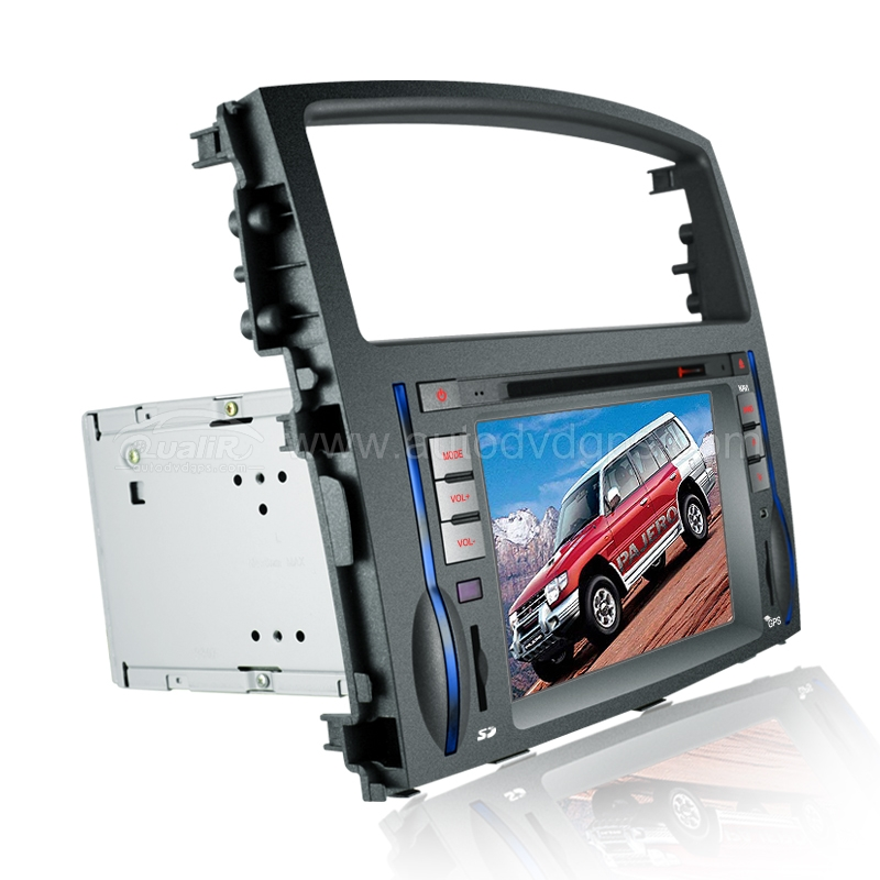 2006-2011 Mitsubishi Pajero DVD Player with in-dash GPS Navigation and Digital HD Touchscreen and BT iPod Control