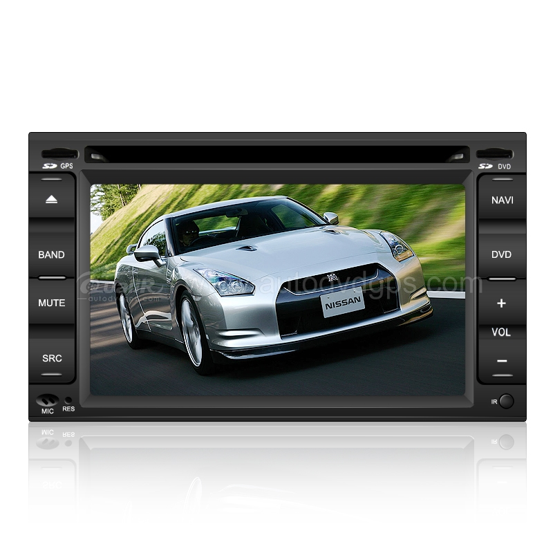 2 Din Car DVD Navigation player with 6.2 Inch Digital HD touchscreen & PIP RDS