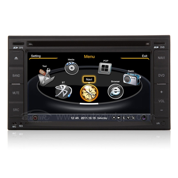 Car DVD GPS Navigation With 3 Zone POP 3G/WIFI/20 Disc CDC/ DVD Recording/ Phonebook / Game For Nissan Series