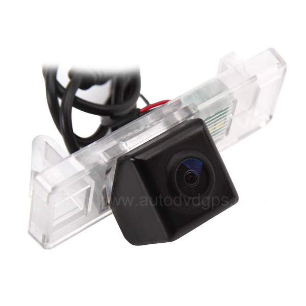 Car Reverse Rearview CMOS camera for Citroen C4 C5 NTSC +Guard Line
