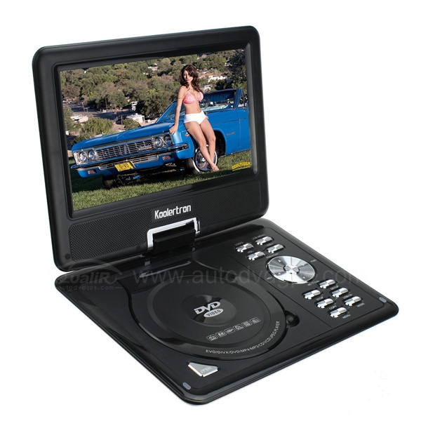 9.5 Inch LCD Car Home Portable DVD Player MP3 MP4 TV SD DIVX USB Games