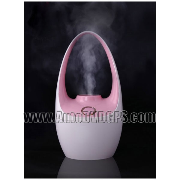 Pink Ultrasonic Mini USB Car Humidifier Diffuser Air Purifier
