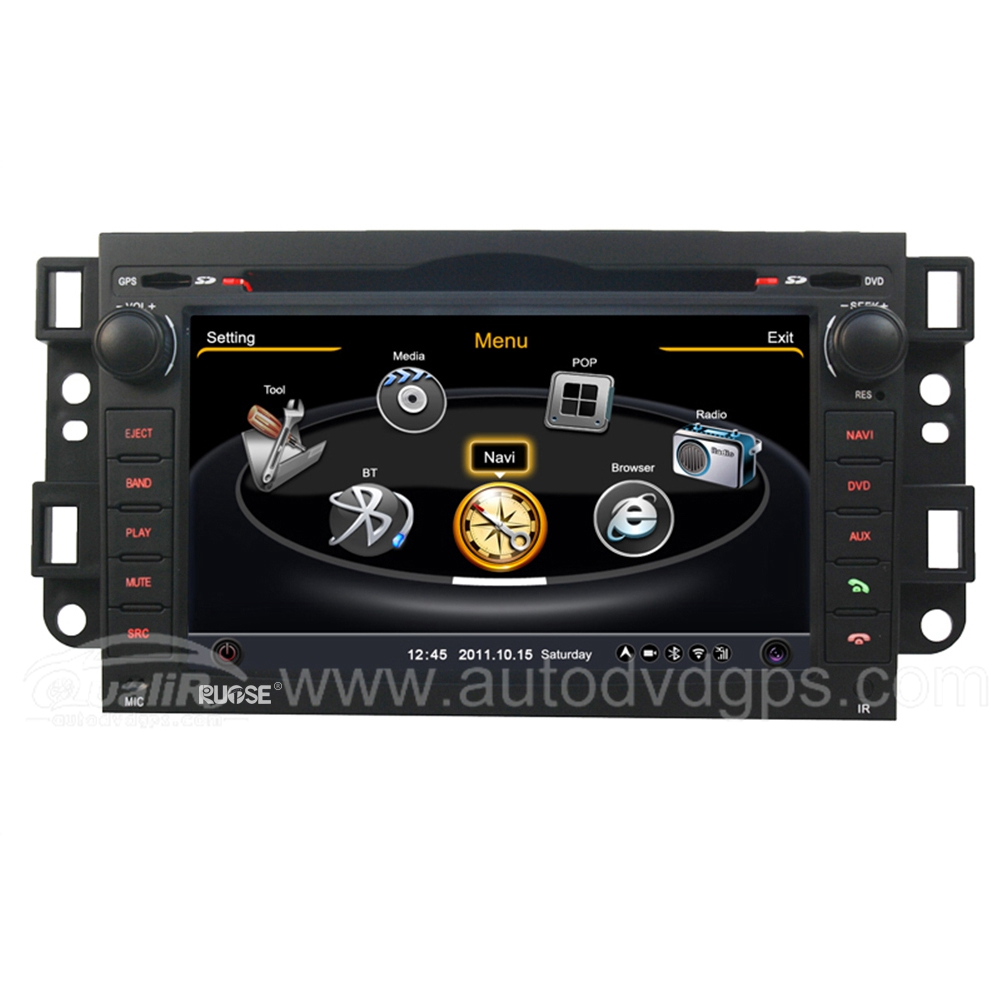 Upgraded Chevrolet New Epica DVD GPS Navigation With 3 Zone/POP 3G/WIFI/20 Disc CDC/DVD Recording/Phonebook/Game
