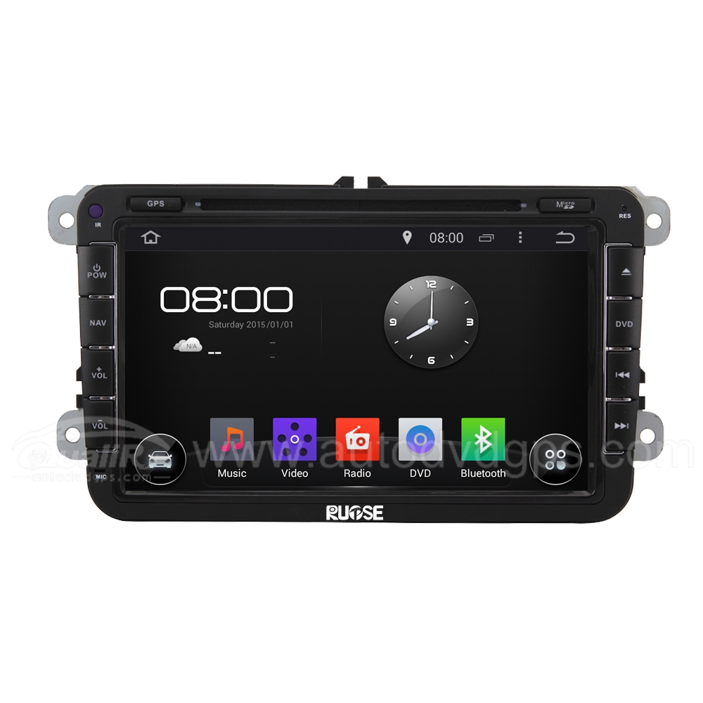 "8"" Android 4.4 Car GPS DVD Radio Player With 3G/WIFI For VW SKODA Golf"