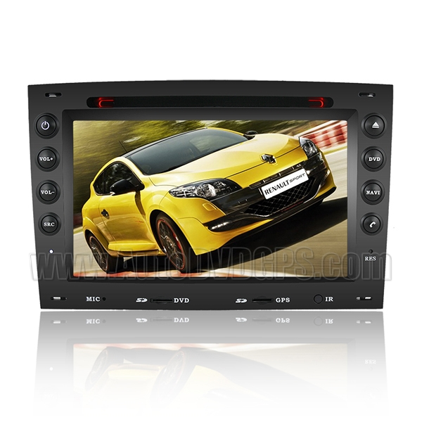 2003-2008 Renault Megane DVD-based Navigation System with HD touch screen and iPod Bluetooth CAN-BUS
