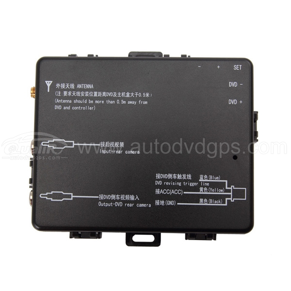 TPMS Tire Pressure Monitor System with 4 Sensors Displayed on Your DVD Monitor