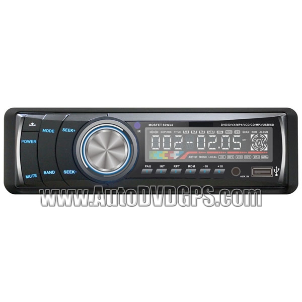 Car DVD Player MP3  MP4 Support