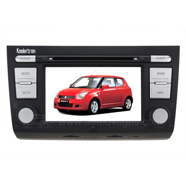 Car DVD Player with GPS navigation and digital HD touchscreen and BT iPod USB for Suzuki Swift