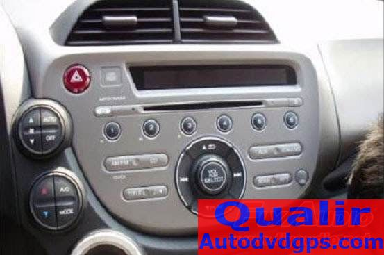 autoradio dvd gps stereo for honda fit install